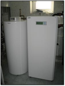 Отопительная система с тепловыми насосами AiK