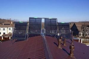 Вакуумные солнечные коллекторы
