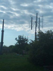 Vertical wind generator 9 kW