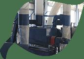 Модуль сухой очистки полимерных материалов